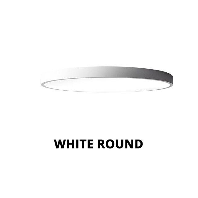 white circle metal