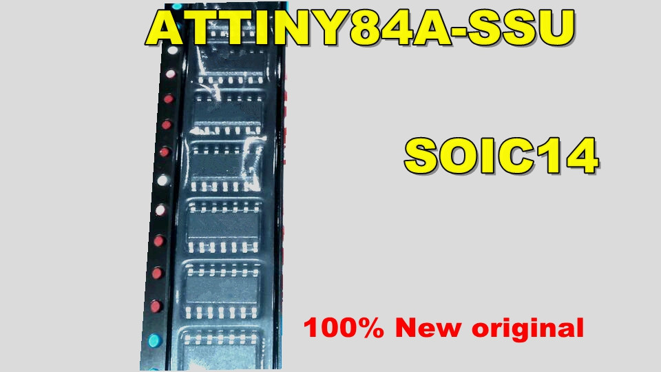 5PCS/LOT ATTINY84A-SSU ATTINY84A ATTINY84 SOP-14 IC New original lg 28lf551c