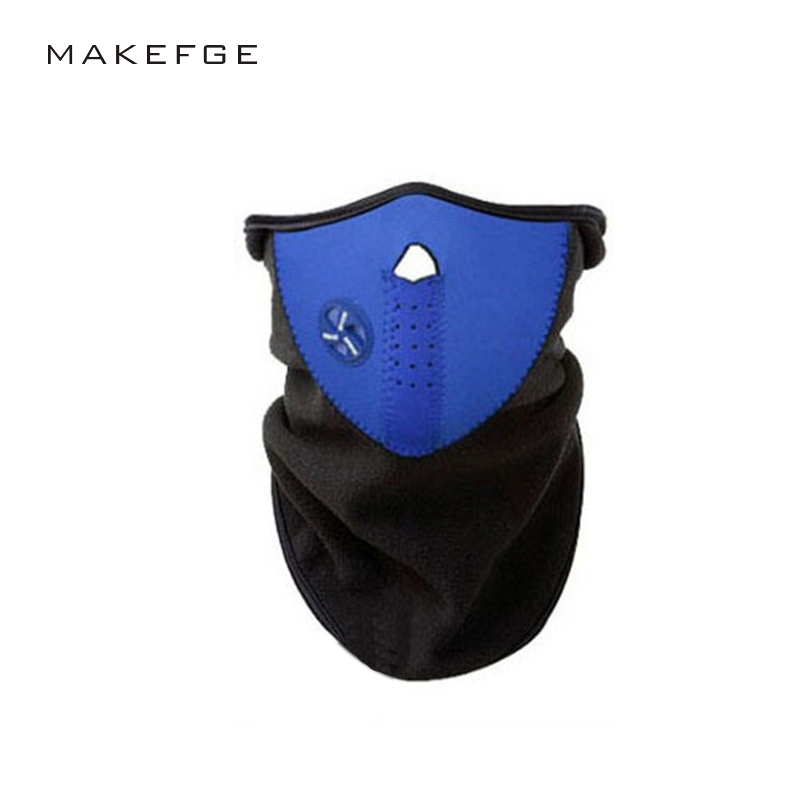 hat balaclava windproof Cycling Mask riding bicycle fleece winter warm half face Ski mask Motorcycle sport mask Dust Protecting