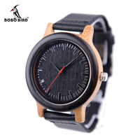 2017 BOBO BIRD M13 New Wood Wristwatches Quartz Watch Unique Design Relogio For Men In Paper