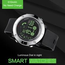 Moda Profissional de Natação À Prova D' Água Relógio de Pulso do Esporte da Aptidão Rastreador Bluetooth Relógio Inteligente para IOS Android Não Precisa Cobrar