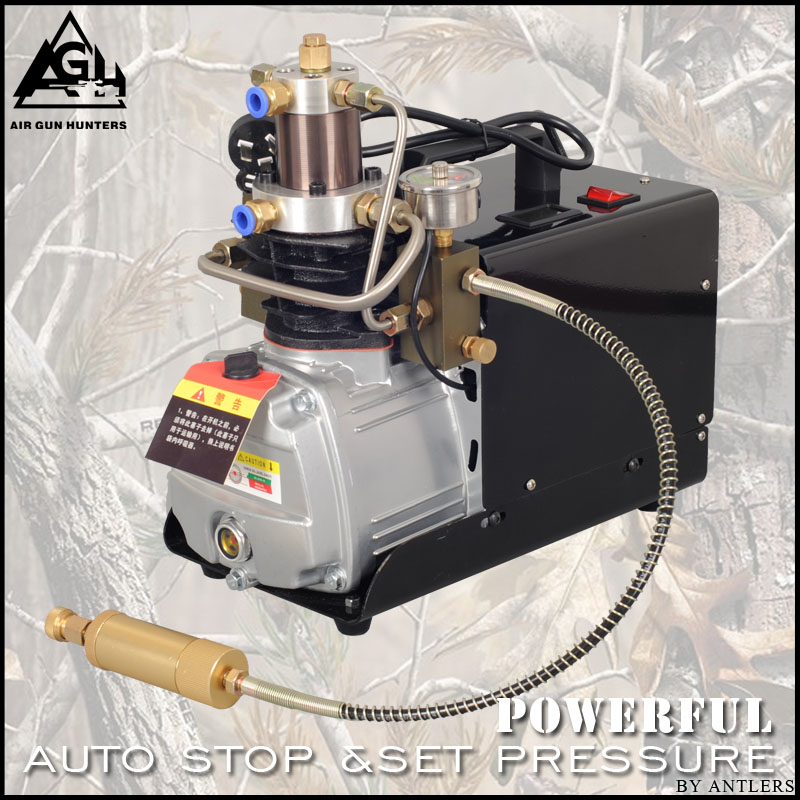 4500PSI High Pressure AUTO STOP 30MPA Electric PCP PUMP Compressor Air Pump For Pneumatic Airgun Scuba Rifle GUN PCP Inflator