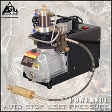 Bomba de aire del compresor de la BOMBA de la PCP de la alta presión de 4500PSI AUTO STOP 30MPA para el arma de aire de la PISTOLA del rifle de la CAJA del rifle de aire comprimido neumática