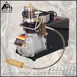 4500PSI Hogedruk AUTO STOP 30MPA Elektrische PCP POMP Compressor Luchtpomp voor Pneumatische Luchtbuks Scuba Geweer PCP Inflator