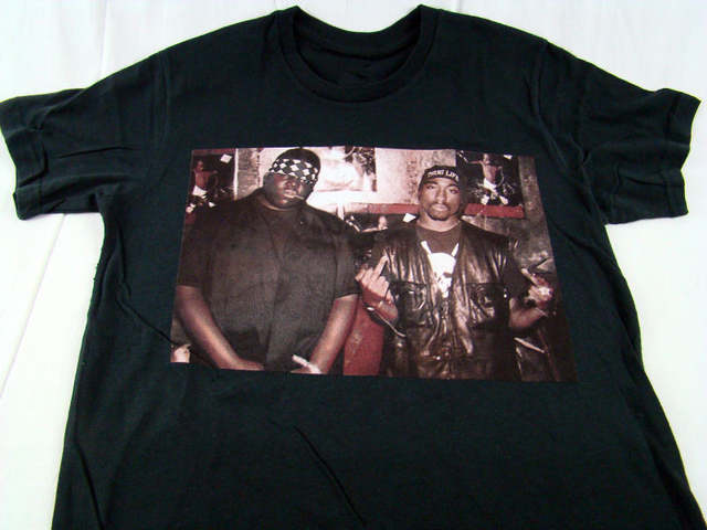 a11a0dce100 placeholder TUPAC SHAKUR King Crown Mens T Shirt Hip Hop Rap Swag NWA West  Coast 2pac T