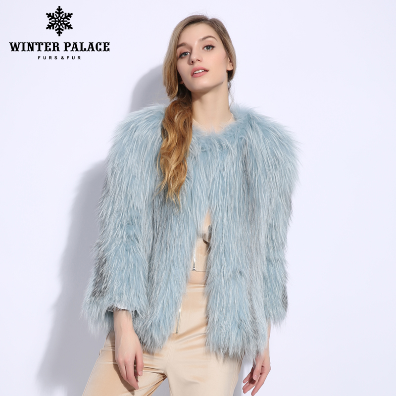 2018 Nova Moda Slim Fur Sexy Nove Trimestre de pele de raposa colete de pele de raposa casaco de Couro Genuíno real da pele de fox casaco O-pescoço Curto casaco