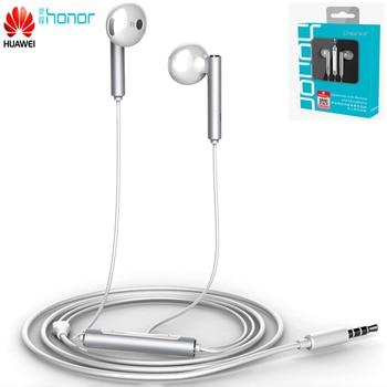 Original Huawei Honor Earphone AM116 AM115 In-Ear Headset with Microphone 3.5mm Earbuds For Mate8 9 nova3e p10 plus play 10 v8 Phone Earphones & Headphones