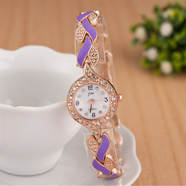 Women's Luxury Crystal Decorated Wristwatches