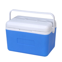 9L Car Portable Heat & Cold Preservation Box Cooler Thermal Fishing Box Bin Medicine Container