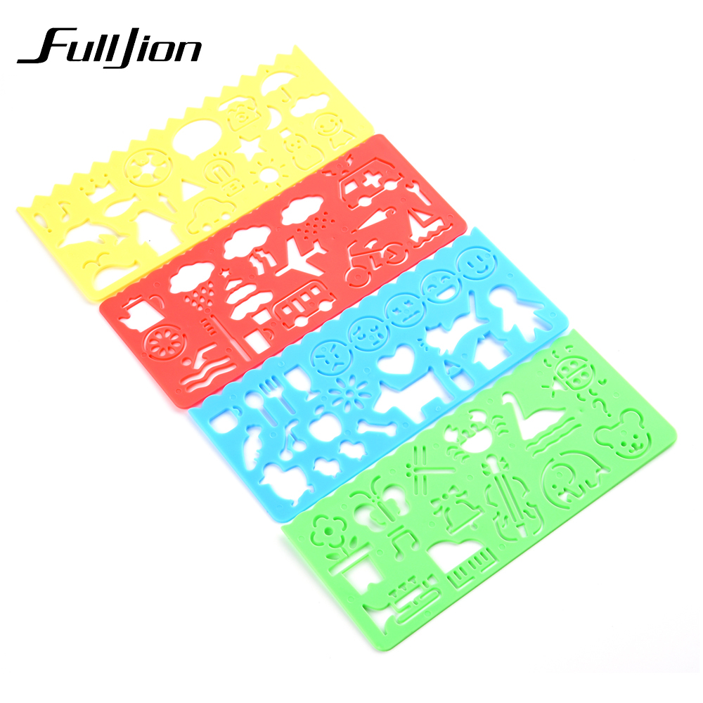 Fulljion-Drawing-Toys-Template-Ruler-Painting-Tools-Learning-Education-Spirograph-Stationery-Sketchers-School-Supplies-Kids-Craf-3