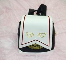 1 piece Harajuku Style Sailor Moon wing PU Backpack Cute Cat Shoulder Bag School Bags For Teenager Girls Book Bag Rucksack все цены