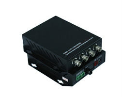 4ch Analog Optical Transmitter Without Data(Single Mode, Single Fiber 20KM, FC)