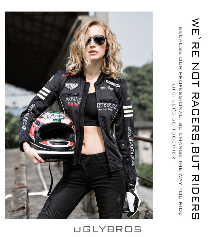 Race Car Jackets >> Package freight Uglybros car race car race clothing jacket women clothing motorcycle jacket -in ...