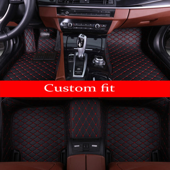 Car floor mats for BMW 2 series F22 F23 F45 F46 5D car styling waterproof high quanlity carpet rugs carpet liners
