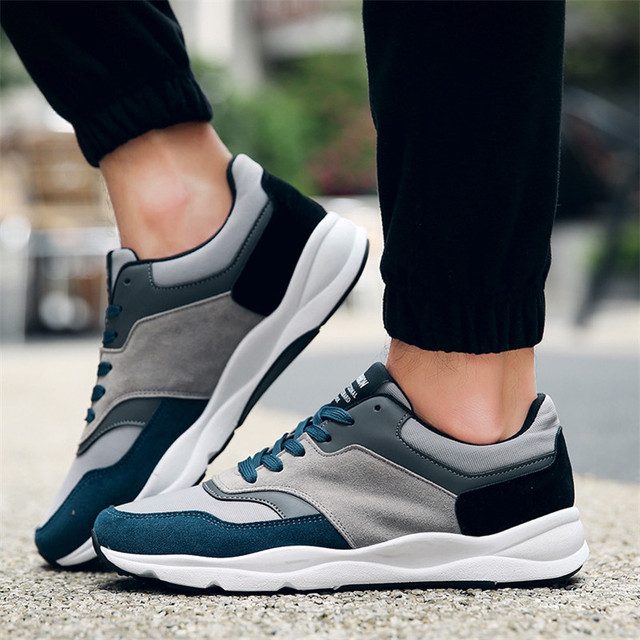 Hot Design High Quality Cheap Men Shoes Casual Fashion Flat Shoes for Adults Trainers Breathable Light Soft Flats