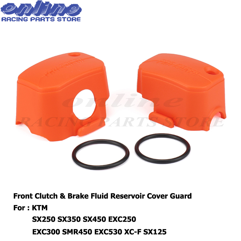 CNC Plastic Master Cylinder Cover For <font><b>KTM</b></font> 125 200 <font><b>250</b></font> 300 350 400 450 500 525 530 SX <font><b>SXF</b></font> XC XCF XCW XCF-W EXC EXC-F SMR XCRW image