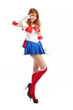 Сейлор Мун аниме косплей Tsukino Усаги косплей хэллоуин костюмы