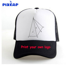 Causal calidad SnapBack Cap triángulo redondo Bordado marca gorra de béisbol  ala plana hip hop juventud fe8d523245d