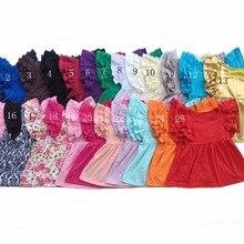 e8146181 Cotton Wholesale Baby Girls Flutter sleeve Pearls t shirt Soft cotton Girls  Tops shirt Ruffle Raglan