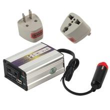 Portable Car Charger 200W WATT DC 24V to AC 220V 50 Hz Car Power Inverter Converter Transformer Power Supply hot selling