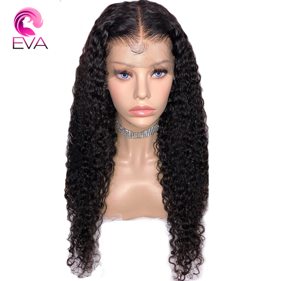 Hair Extensions & Wigs Dependable Eva Hair 150% Density 360 Lace Frontal Wigs With Baby Hair Ocean Wave Pre Plucked Front Lace Wig For Women Brazilian Remy Hair Lace Wigs