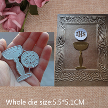 Glory Trophy  Carbon steel Cutting Dies Stencil Craft for DIY Creative Scrapbook Cut Stamps Embossing Paper Hand