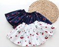 New Girls Tulle Skirt Print Cherry Floral Tutu Pettiskirt  Casual  Meisjes Rokjes Tutu Skirt 6SK032