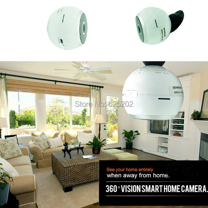 Panoramic 360 Degree Mini IP Wifi Camera 960P 1.3MP Fisheye Lens Free ShipmentPanoramic 360 Degree Mini IP Wifi Camera 960P 1.3MP Fisheye Lens Free Shipment