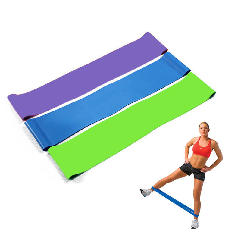 HEAVY DUTY RESISTANCE BAND LOOP POWER GYM FITNESS EXERCISE YOGA WORKOUT Lot