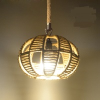 American country vintage wind cord chandelier bar door box deck net personalized coffee house lighting GY71
