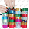 1 big roll 4cm*120m nail art start sticker 3d paper for polish styling tools gel decorations foil on stickers care