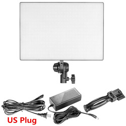 Neewer 432 LED PT-650B Dimmable Camera Camcorder Video Light Panel with Hot Shoe Bi-Color Dimmable CRI90 LED Light US Plug