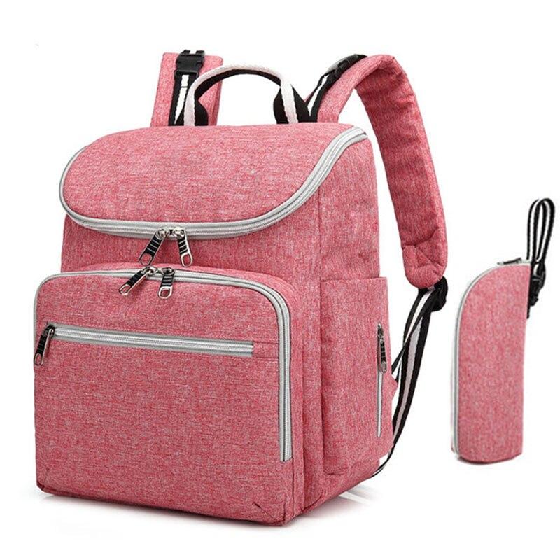 Multi-Function Mummy Maternity Nappy Bag Fashion Patchwork Large Capacity Baby Bag Travel Backpack Nursing Bag For Mom De