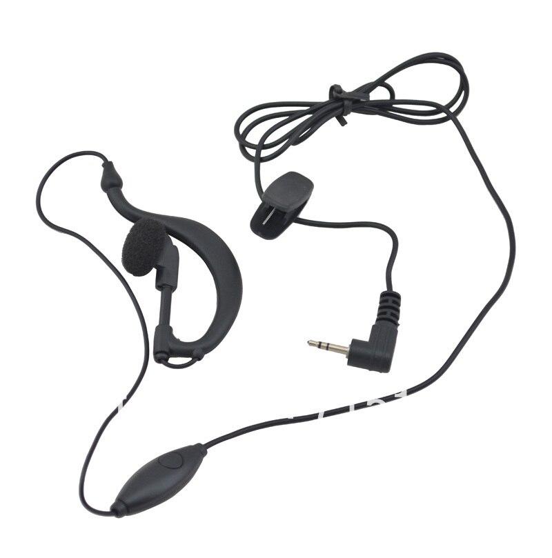 Walkie talkie Earpiece Earphone for TYT TH UV3R radio font b motorcycle b font headphone for