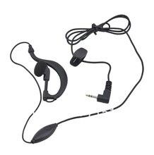 Walkie talkie Auricular Del Auricular para la radio TYT TH-UV3R, motocicleta auriculares para la radio Motorola T5, Talkabout T4500, T7, T5428 radio