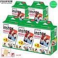 Оригинал 10-100 листов Fujifilm Instax mini 8 пленок белый край 3 дюйма для мгновенной камеры 7 9 25 50s 70 90 SP-1 SP-2 фотобумага