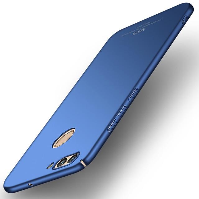 new arrival 844e1 8a332 US $3.99 20% OFF Original MSVII Case For Huawei Nova 2 Cover Huawei Nova 2  Plus Case Luxury Slim Hard PC Back Cover Huawei Nova 2 Nova2 Plus 2s -in ...