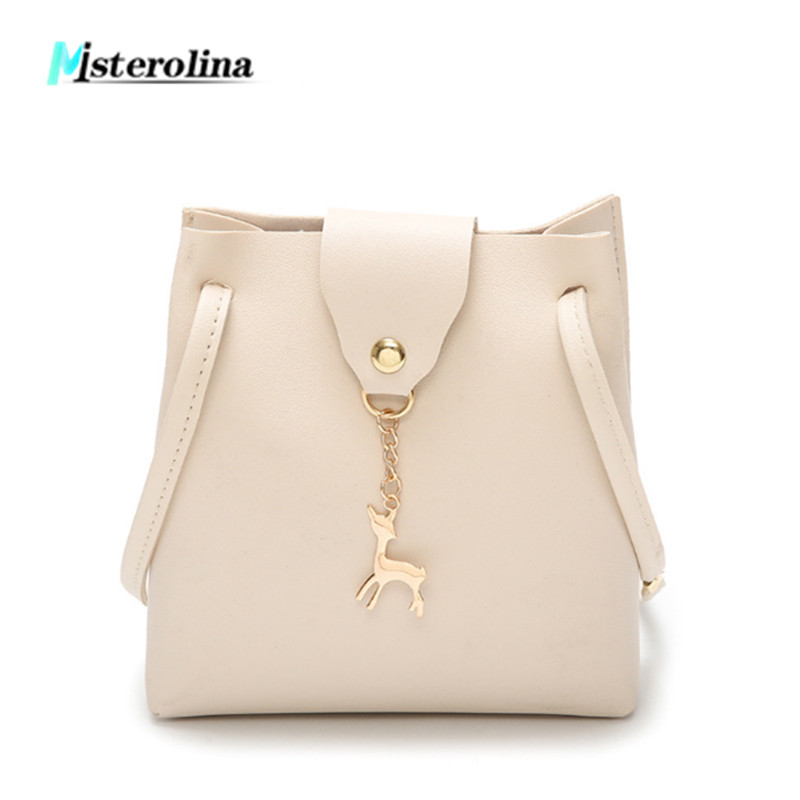 где купить Misterolina fashion small flap bag deer crossbody bags women luxury Casual leather bag for female messenger shoulder day handbag по лучшей цене