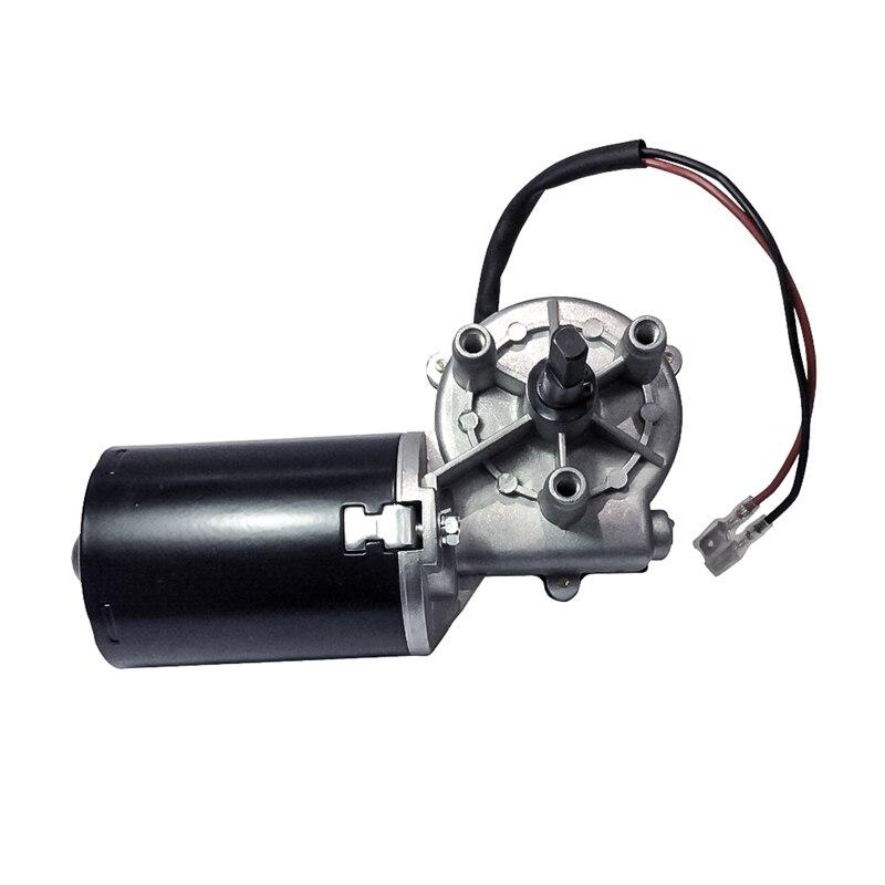 DC motoréducteur Garage Porte Raplacement 12 V 24 V 45 50 RPM Électrique Angle Droit Réversible Ver motoréducteur Gauche Vitesse boîte