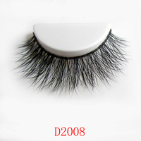 Handmade 1 Pair Natural Thick Long False Eyelashes Mink Eyelash Extension Eye Lashes Makeup Fake Lashes