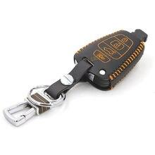Skórzana Car Key pokrowiec na Hyundai veracruz 2007 2012 2015 suv portfel etui klucz pokrywa