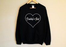 Sugarbaby Daddy's Girl Sweatshirt Long Sleeve Fashion Casual Tops Crew Neck Fashion Jumper High quality Baby girl Jumper