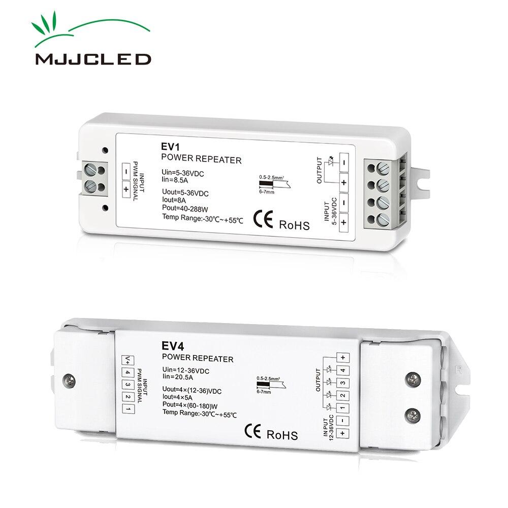 RGB RGBW Amplifier 5V 12V 24V 36V EV3 EV1 EV4 PWM Power