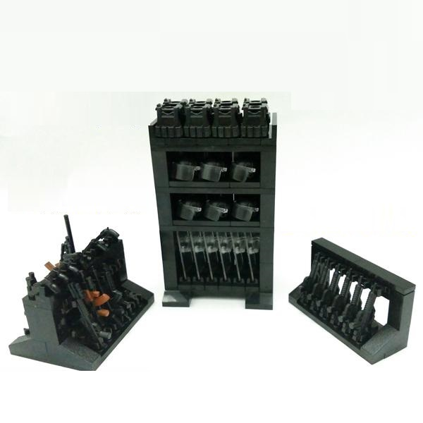 Weaponry Gun Store Original Blocks Educational Toys Swat Police Military Weapons Gun Model City Accessories Lepin Mini figures marines weapons original block gun toys swat police military lepin weapons army model kits city compatible lepin mini figures