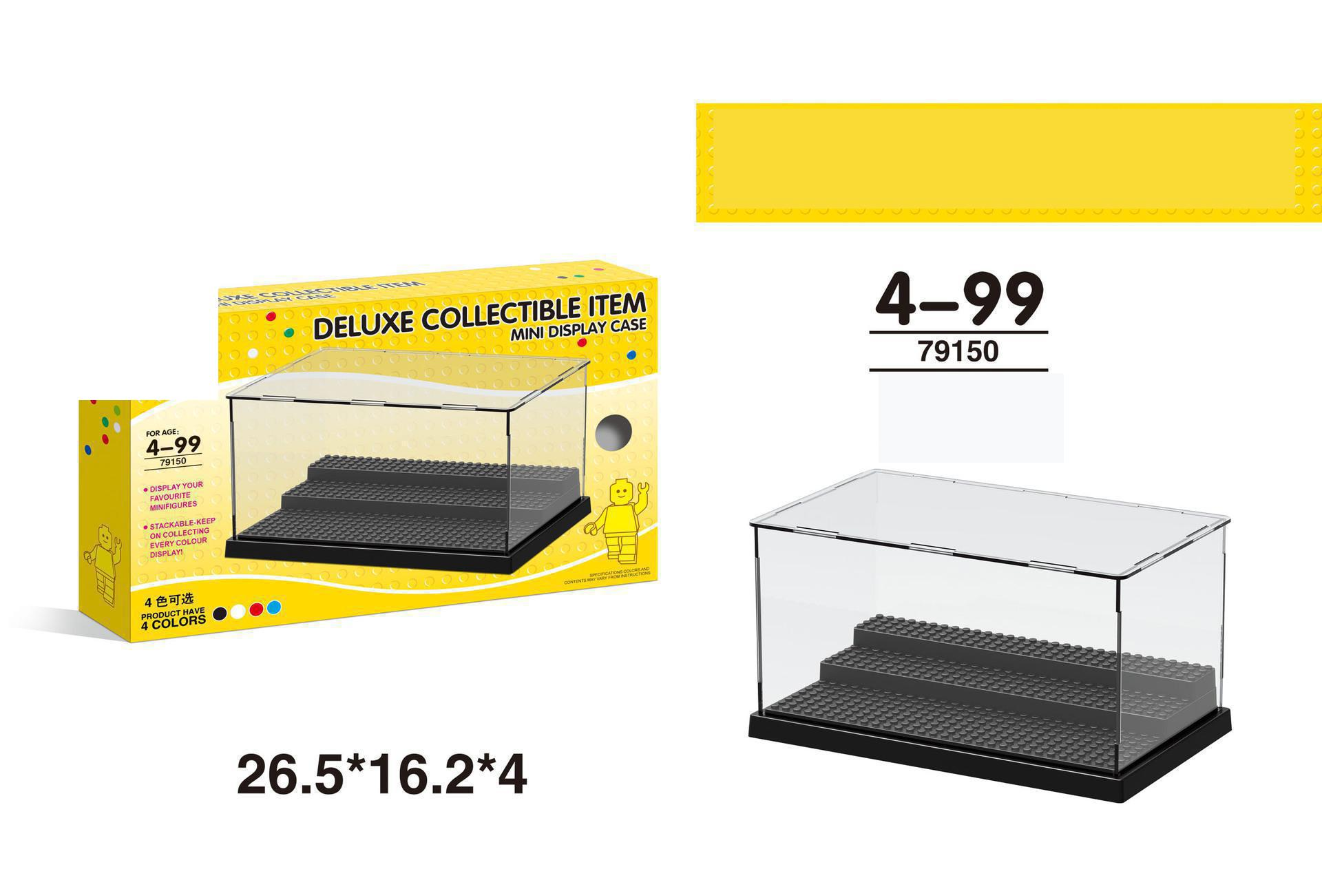 Compatible With Legoings 79150 Dinosaur Figures Deluxe Acrylic Collectible Building Blocks Display Mini Box Display Case BricksCompatible With Legoings 79150 Dinosaur Figures Deluxe Acrylic Collectible Building Blocks Display Mini Box Display Case Bricks