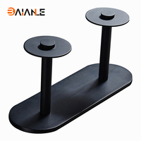 Toilet Paper Holder Free shipping Promotion Modern Black Space Aluminum Wall Mounted Tissue Bar