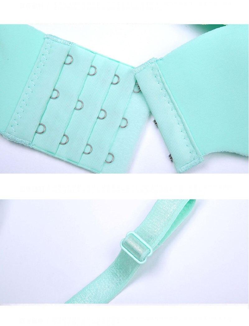 Jerrinut Sexy Push Up Bras For Women Seamless Women\`s Bra Underwear Lingeries Bralette Ultra-thin Thick Brassiere Femme Bra 22