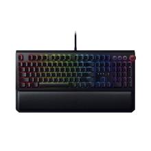 Механическая игровая клавиатура Razer blackтна, 104 клавиш, RGB подсветка, эргономичная клавиатура с подставкой для запястья, тактильная игровая клавиатура для ПК/ноутбука