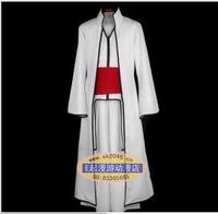 Bleach Cosplay Aizen Sousuke 4th captain Halloween Shinigami cloak kimono robe Halloween cosplay costume