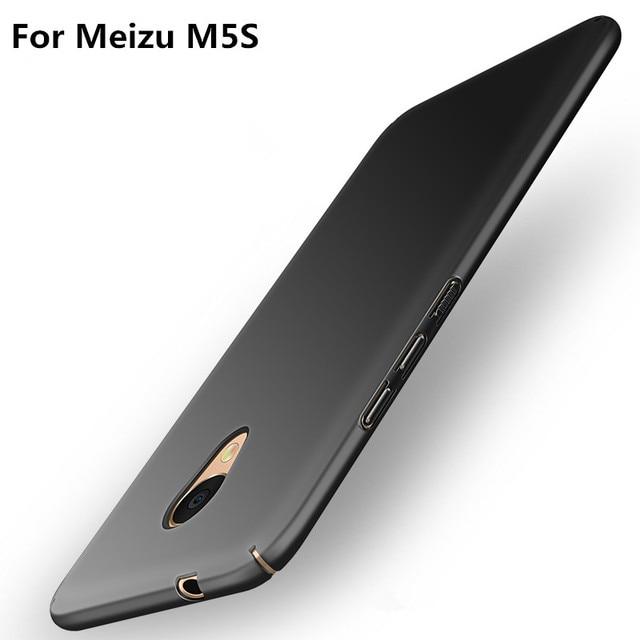 Роскошные модные Жесткий PC матовый чехол для Meizu M5S случай 5.2 жесткий 360 градусов полное покрытие для Meizu M5s случае Роскошные Капа Coque P35